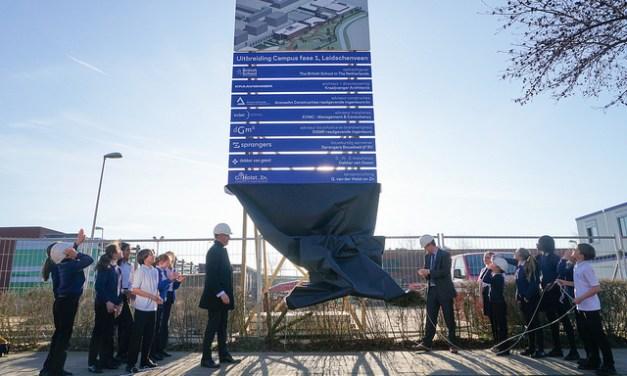 Building Work Begins on new Senior School in Leidschenveen