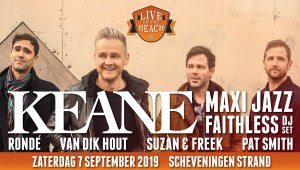 Live on the Beach feat. KEANE @ Scheveningen Strand