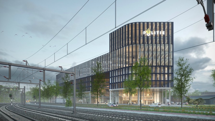 Draft Design for New Police HQ in The Hague