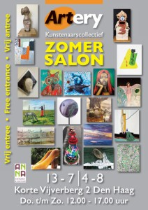 Artery Zomer Salon @ Korte Vijverberg 2, Den Haag (directly across from the Mauritshuis)