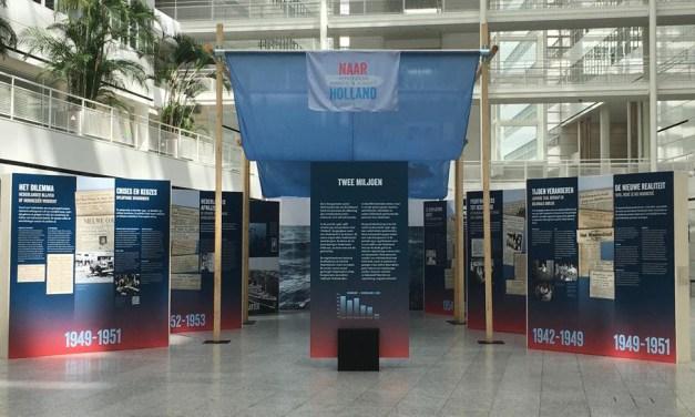 'To Holland; Repatriation, migration or flight?' Exhibition @ Atrium The Hague