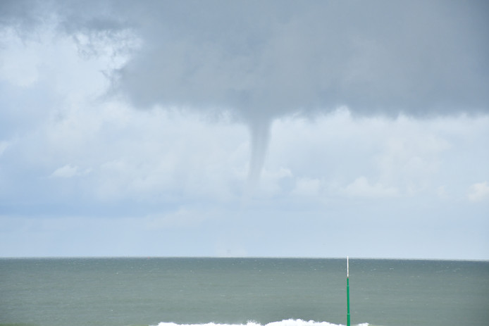 Tornadoes At Scheveningen Stay Clear of the Coast