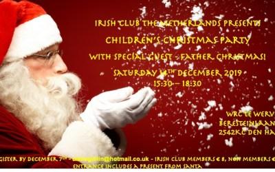 Irish Club Children's Christmas Party