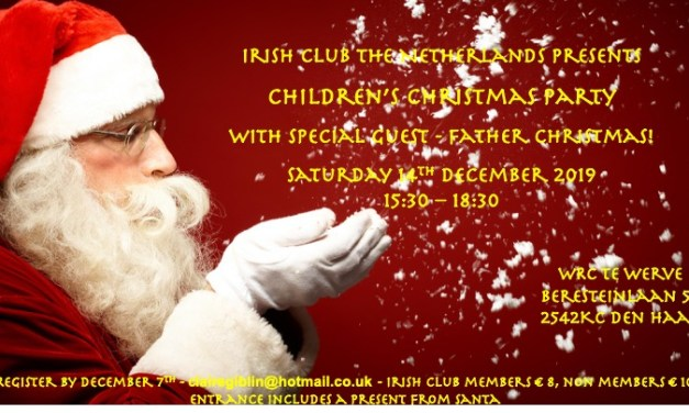 Irish Club Children's Christmas Party