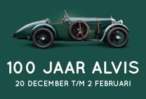 100 years of Alvis in the Louwman Museum @ Louwman Museum