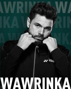 Previous winner Stan Wawrinka enters ABN AMRO World Tennis Tournament @ Rotterdam Ahoy Arena