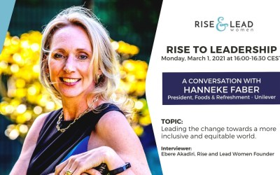 Rise to Leadership Podcast: A Conversation with Hanneke Faber