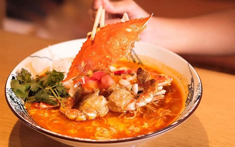 Ichikokudo Chilli Crab Ramen