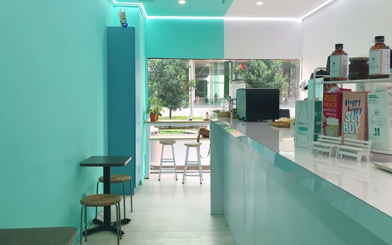Bean & Butter Cafe interior