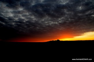 Sunset over Tafts
