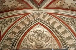 The Italian Chapel - smooth paint in wonderful tromp l'oeil