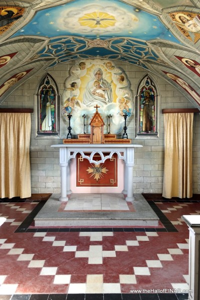 The Italian Chapel - the altar