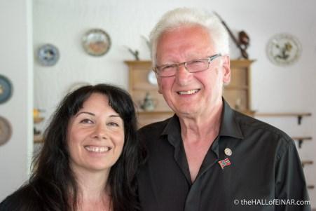 Antonella Papa and John Muir - photograph (c) 2016 David Bailey (not the)