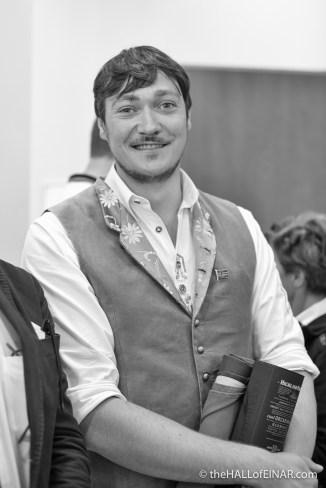 Edoardo Felicetti - mayor of Moena - photograph (c) 2016 David Bailey (not the)