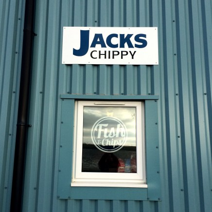 Monk Supper at Jack's Chippy
