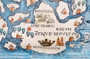 The Chart of the Seas - Orkney on the Carta Marina from 1539 - photograph (c) David Bailey (not the)