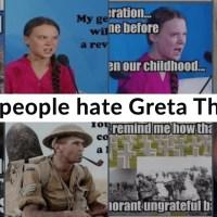 Why do people hate Greta Thunberg?