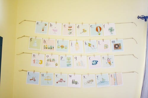 kids alphabet cards - free