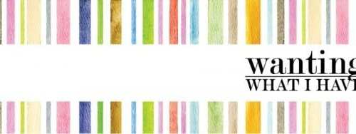 wanting what I have : jenn's home tour