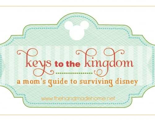 keys to the kingdom : a mom's guide to surviving disney