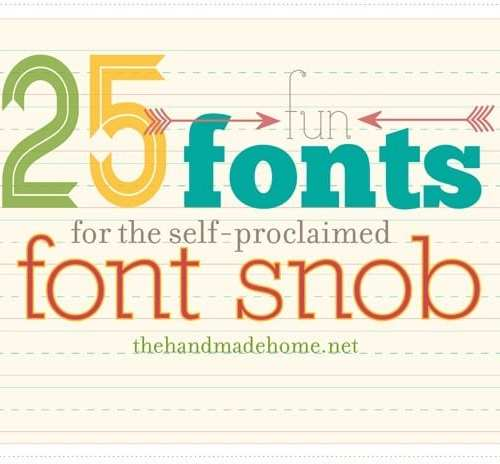 25 fun fonts for font snobs