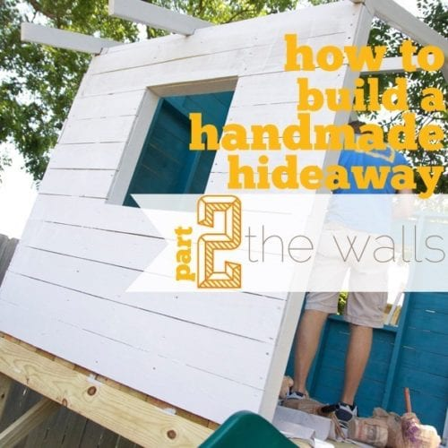 building a handmade hideaway : the walls