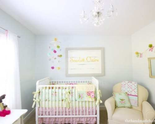 inspiration board : big girl room redo