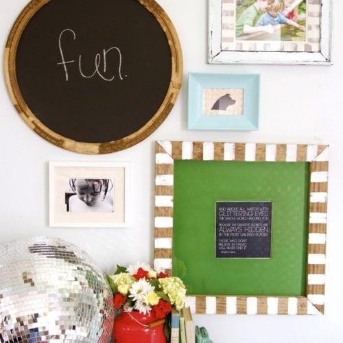 a DIY frame + a freebie printable