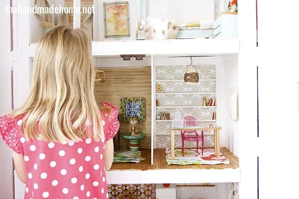 How To Make A Dollhouse Living Room Study The