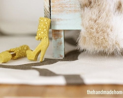 how to make a dollhouse bedroom