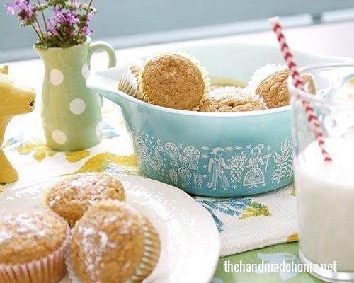 easy homemade carrot muffins