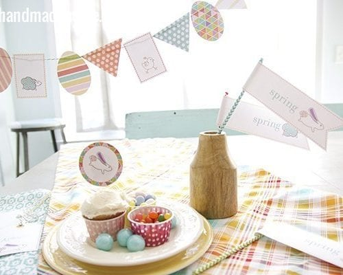 party in your pocket: free spring printables