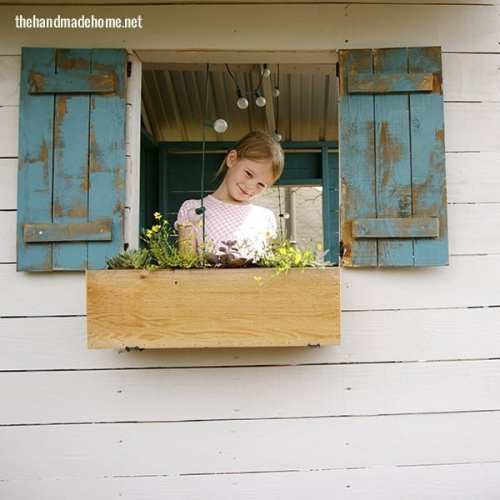 make your own window box