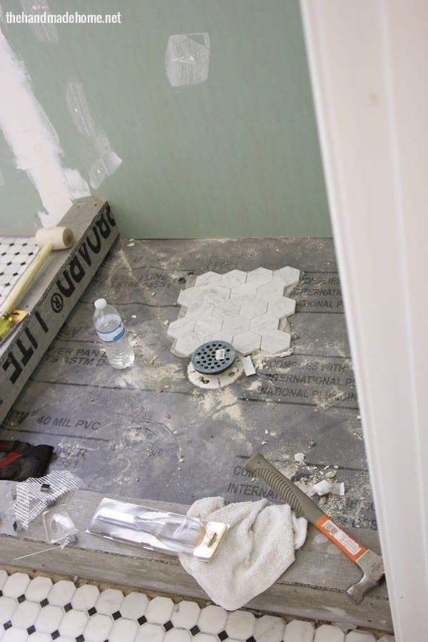 tiling_The_shower