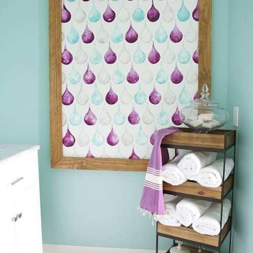 easy bathroom art