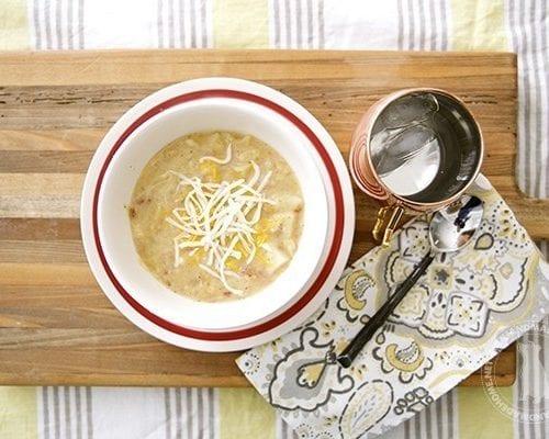 cheesy ranch & bacon potato soup