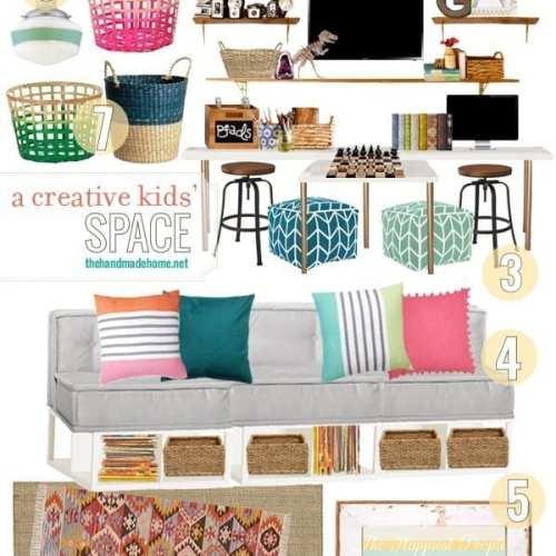 a creative kids space