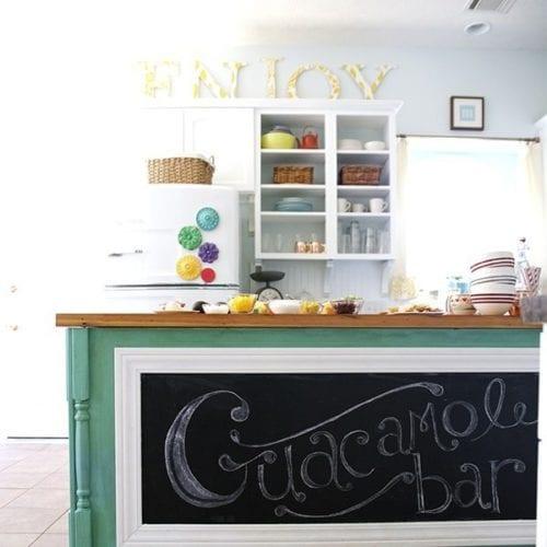 guacamole bar {and 3 fave recipes}