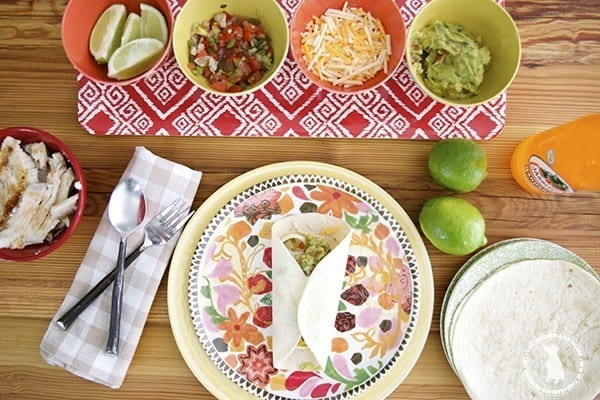 simple fish tacos