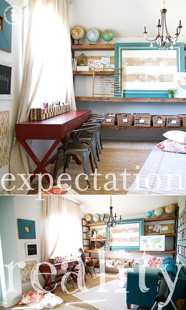 homeschoolroom_expectationreality