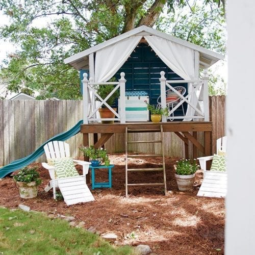 how to make an outdoor toy box