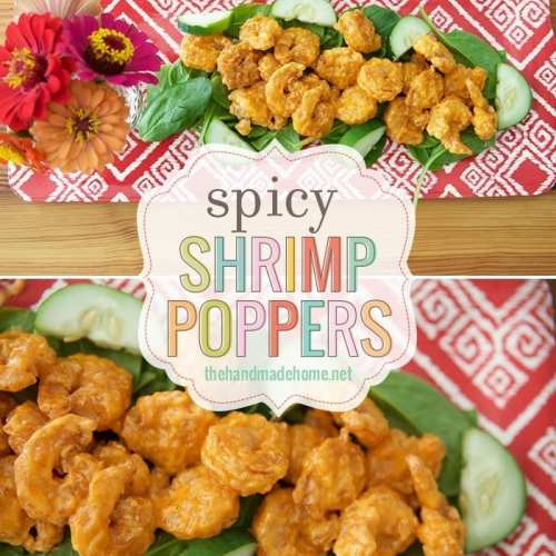 spicy shrimp poppers