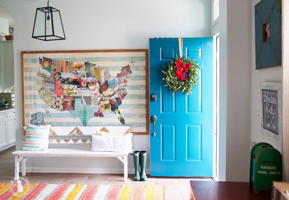 entryway_christmas_ideas
