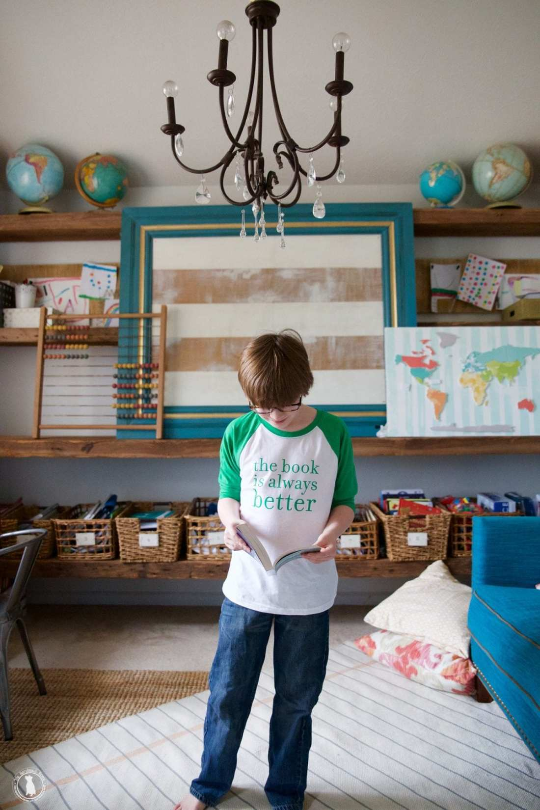 the_book_is_always_better_childrens_tshirt
