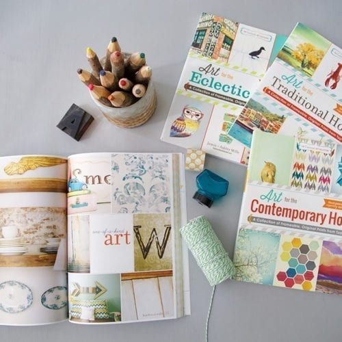 it's the handmade home book series giveaway {and apparel sale!}