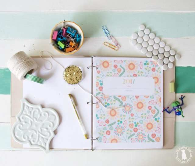 It's Never Too Late: Make Your Own 2017 Personal Life Planner
