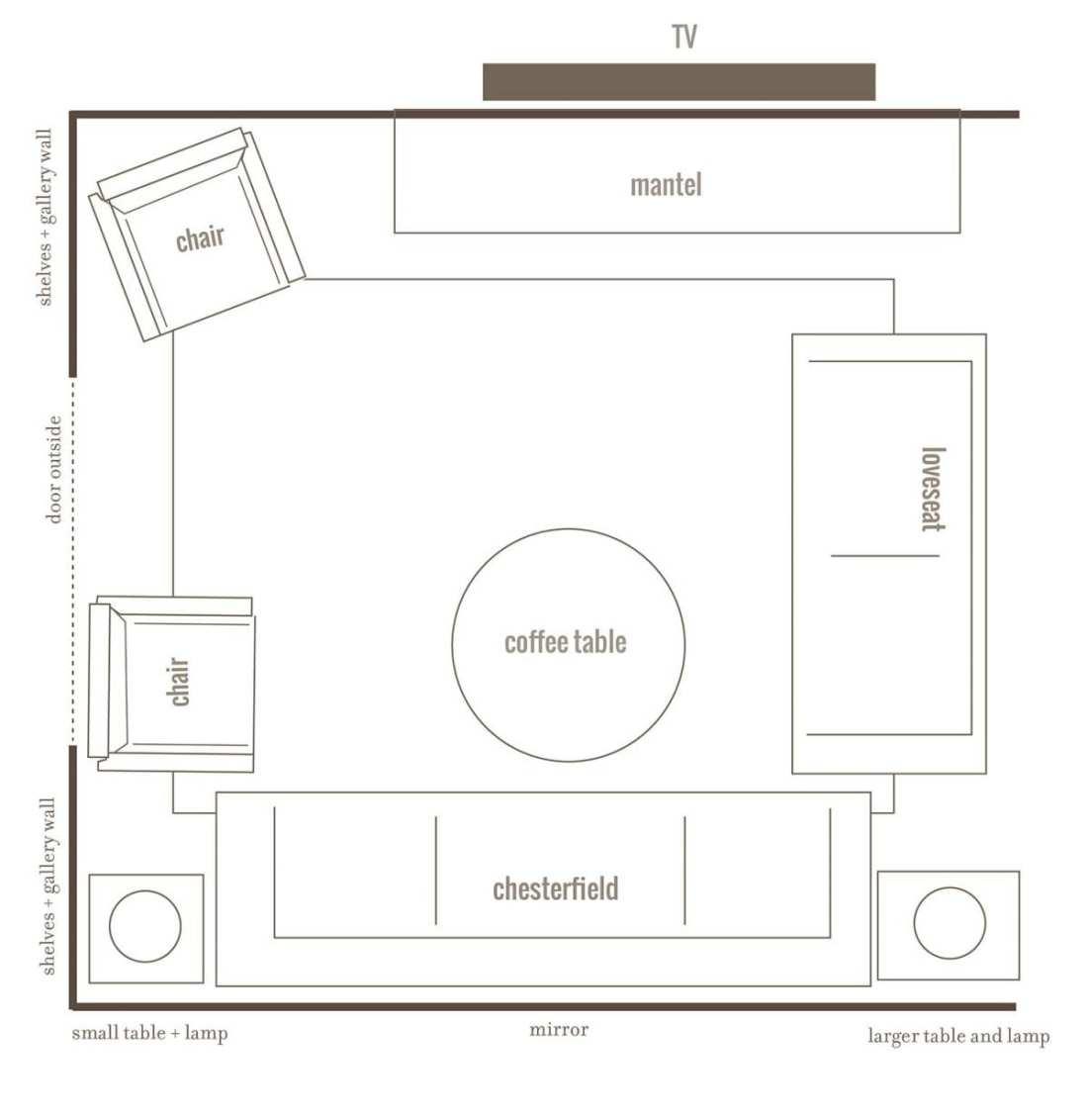 new house - living-kitchen