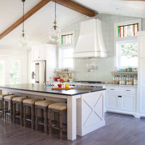 kitchen reveal – before and after