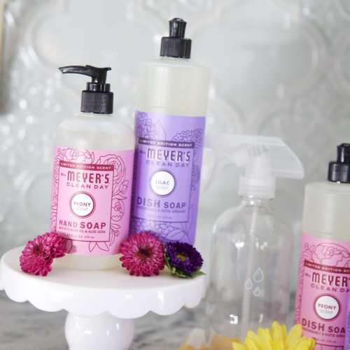 make every day cleaning fun + a free mrs. meyers gift set