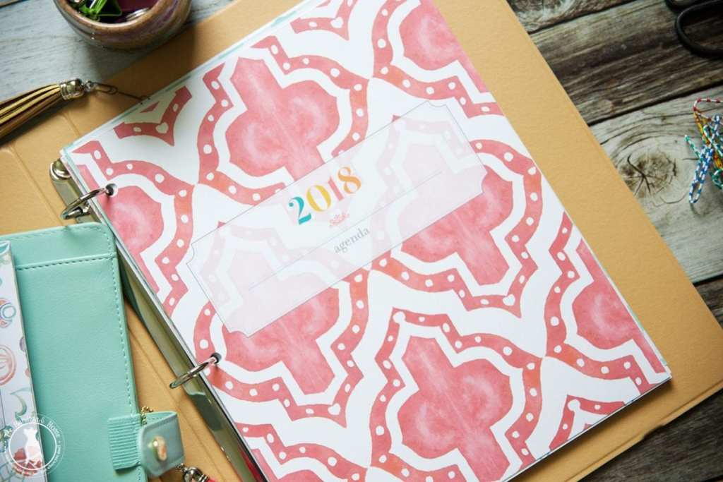a5 covers - free planner 2018